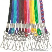 Sell Colored Round Lanyard with Swivel Hook