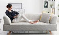 fabric sofa (three-seater)