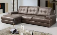 genuine leather corner sofa