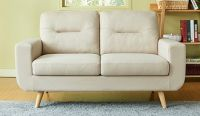stylish linen sofa