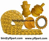 Excavator/Bulldozer undercarriage parts, Excavator/Bulldozer Bottom Roller, Lower Roller, Upper Roller, Top Roller