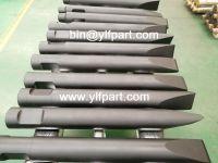 Atlas copco SB100, SB100MK2, SB102 hydraulic breaker chisel moil point