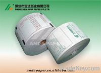 100% wood pulp thermal cash register paper roll