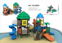 lovely rotational plastic outdoor playset