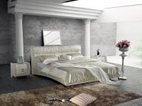 Sell  learther soft bed