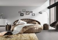 Sell  queen leather soft bed  Y8805#