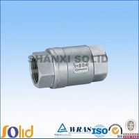 stainless steel spring check valves, NPT Female Thread Ends