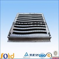 EN124 C250 ductile iron GGG50 square gully grate
