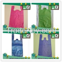 Eco-friendly PLA plastic bag, T-shirt bag, Vest bag