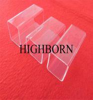 Polishing square clear silica quartz tube