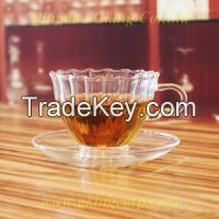 sell high quaity double wall glass cup