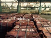 Copper Cathodes 99.99% ready for export