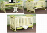 Sell wooden baby bed-MC31
