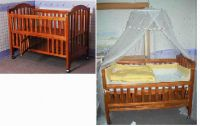 Sell wooden baby bed-MC48