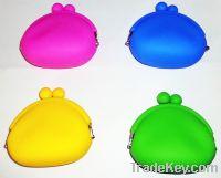 Sell Q-SHAPE SILICONE COIN BAG coin purse