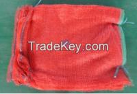 Raschel Bag, red color raschel bag, red mesh bag