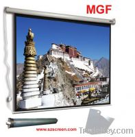 Sell electric screen with remote control