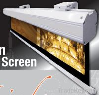 Sell high gain electric projection screen with aluminum casing