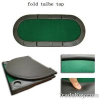 Sell Fold Poker Table Top With Cup Holders