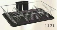 dish rack with plastic tray 1121