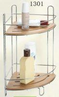 bathroom rack with bamboo 1301