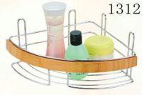 bathroom rack with bamboo 1312