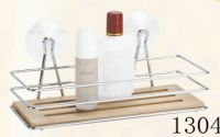 bathroom rack with bamboo 1304
