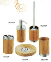 bathroom set with bamboo RS172A-176A