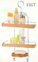 bathroom rack with bamboo 1317