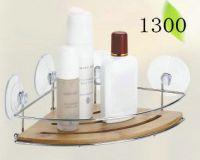 bathroom rack with bamboo 1300