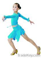 Sell child ballroom dancing top and skirt/dancewear/ballroom clothes