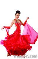 Sell lady's ballroom dancing dress/dancewear/dance clothes