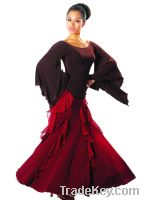 Sell women ballroom dance skirt/dancewear/dance clothtes