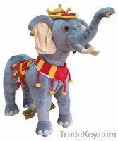 Sell amusement elephant