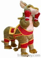 Hot sale ride toy boxing cangaroo