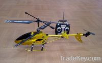 Sell 3.5ch i/c metal helicopter with gyro