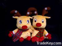 Sell plush christmas deer