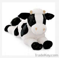 soft plush good quality cow toy