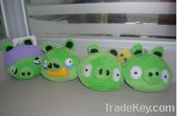 Angry pig , plush toys