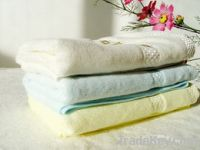 Sell  bamboo fiebr wash towel model ZMJ-106
