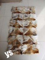 Sell  red fox plate, fox poncho, fox vest, fox scarf, fox ball, cuff