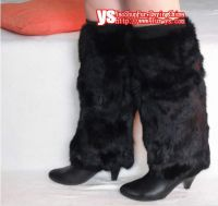 Sell hare rabbit fur boot toopers, fur accessory, fur mukluks
