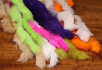 Sell fly tying  rabbit fur trimming, rabbit strip, rabbit strips