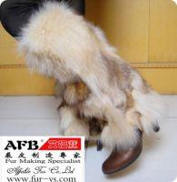 Sell fox fur leg warmers, fox fur boot toopers