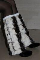 Sell mink fur legwarmers, fashion fur legging