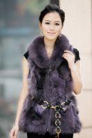Sell fox vest, fox fur coat, fur jacket, fur gilet, fur jumpers