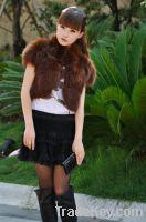 Sell fox fur bolero vest
