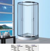 Sell 90x90cm tempered glass shower enclosure with CE ZY-601