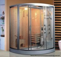 Sell wet and dry shower sauna room