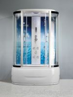 Sell ocean blue design shower cabins with steam ZY-1071A
